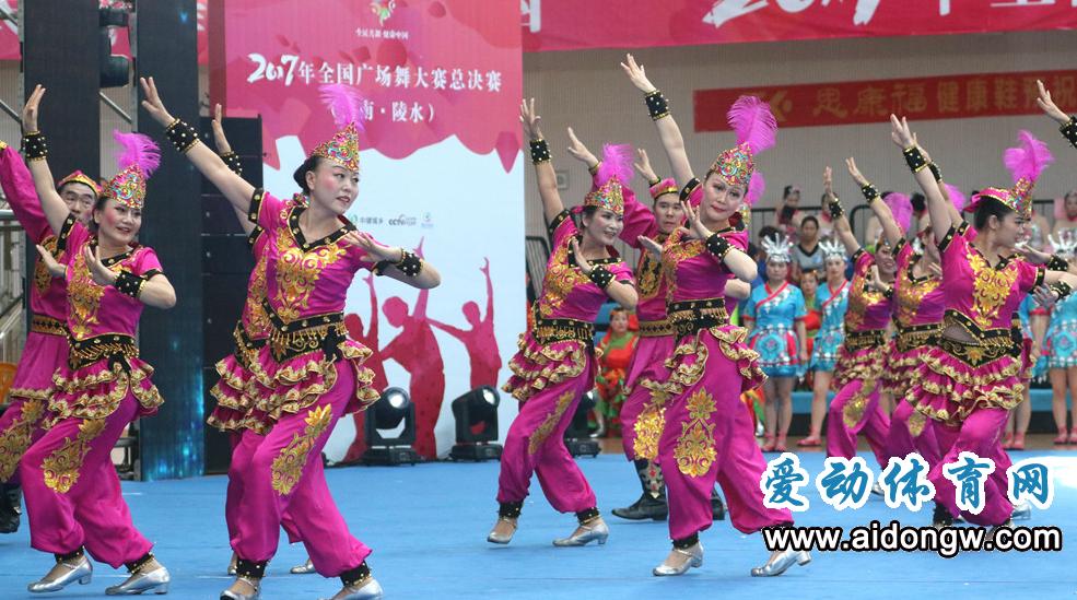 【视频】2017全国广场舞大赛总决赛闭幕式(海南·陵水)