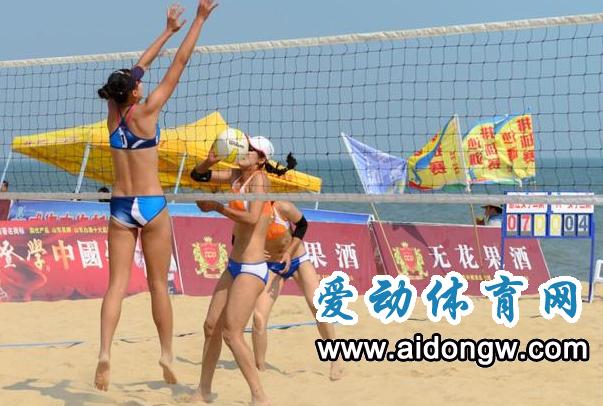 全国沙滩排球巡回赛总决赛11月30日将在海口开赛 10余省市优秀运动员参加
