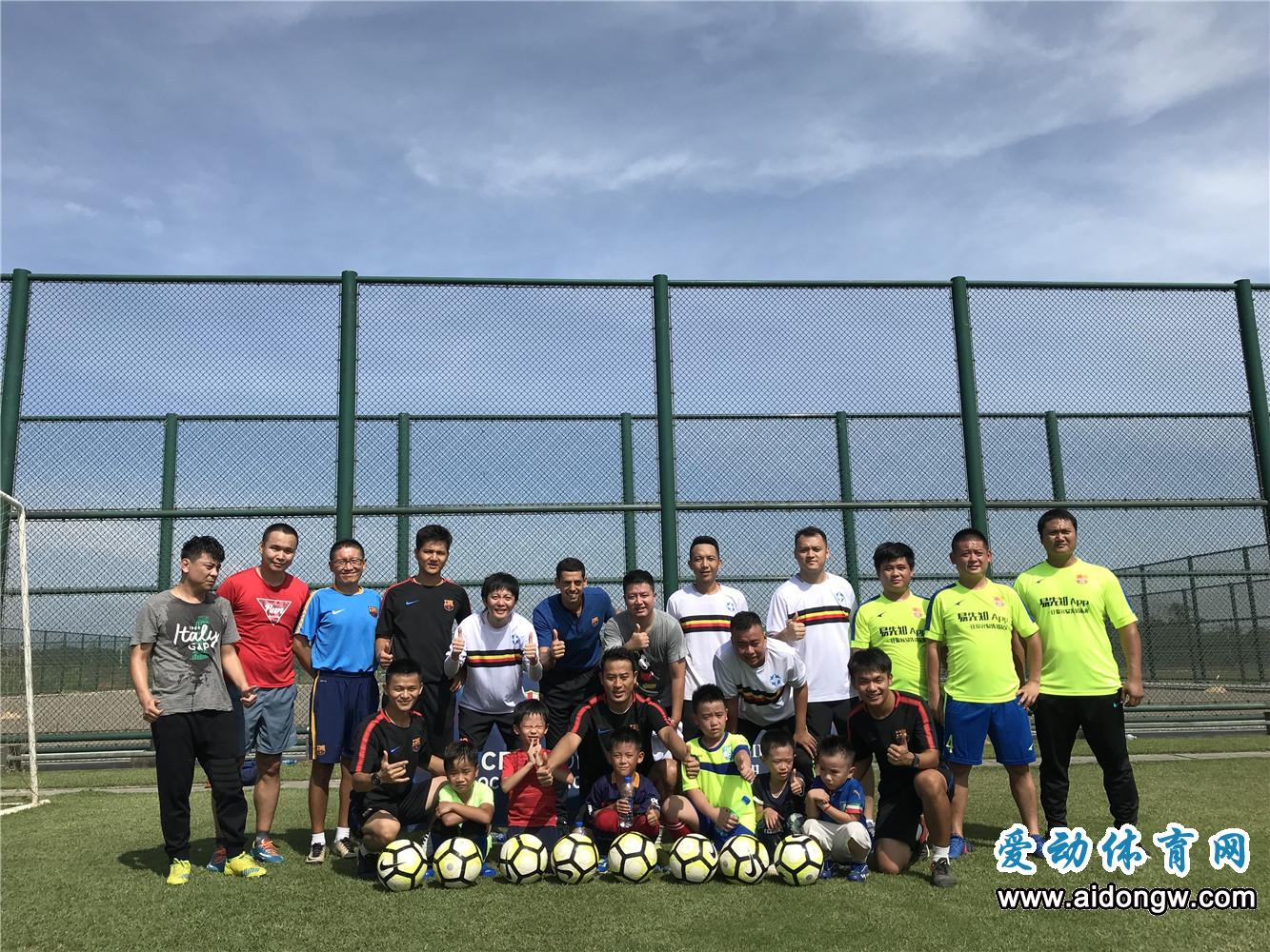 海口巴萨足球学校首个媒体开放日成功举办  足球主题冬令营火热招生中
