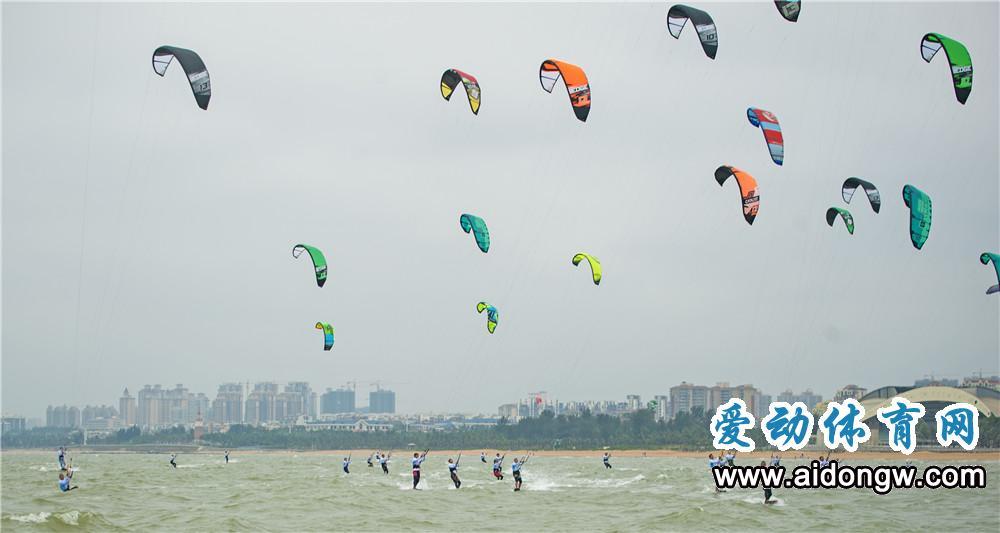 上天入海嗨翻天!回眸2017海南亲水运动季海口国际风筝冲浪公开赛点滴