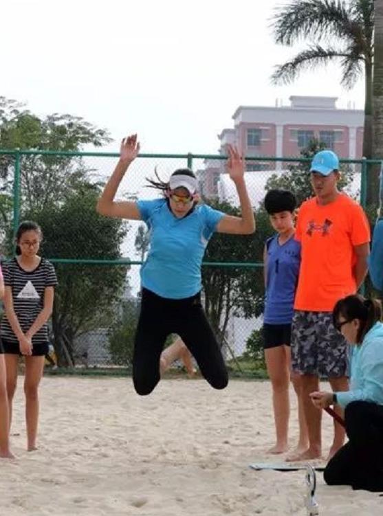 2017年全国青少年沙滩排球后备人才训练营12月5日开营