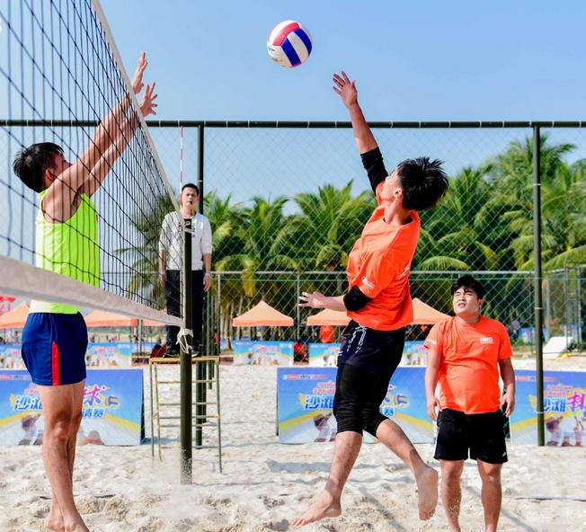 2017亲水运动季沙滩排球邀请赛开幕 精彩现场引爆游客热情