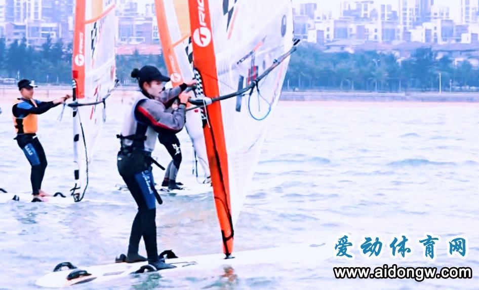 扬帆起航!2017海南省青少年帆板帆船锦标赛海口开赛