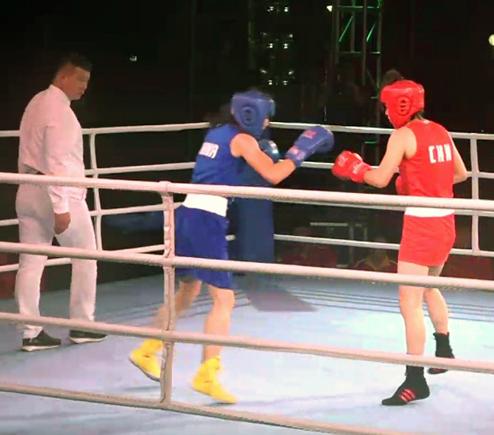 国际旅游岛·五指山拳击争霸赛第一日赛况