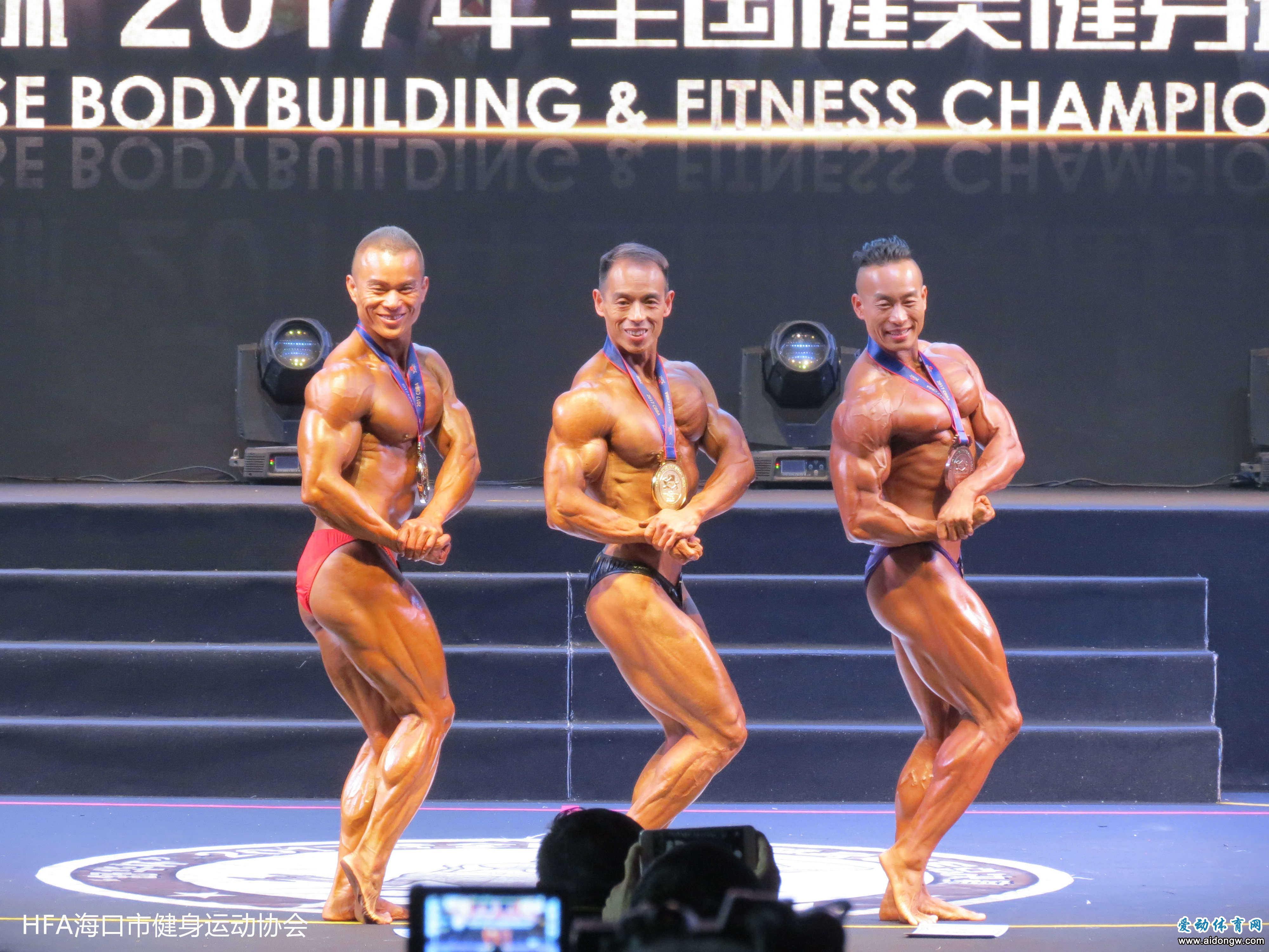 全国健美健身冠军总决赛:海南队吴进伟获古典健美亚军