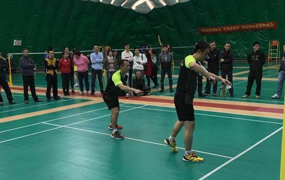 """2018年海南省""""迎春杯""""群众业余羽毛球比赛即将挥拍  羽毛球爱好者们快报名"""