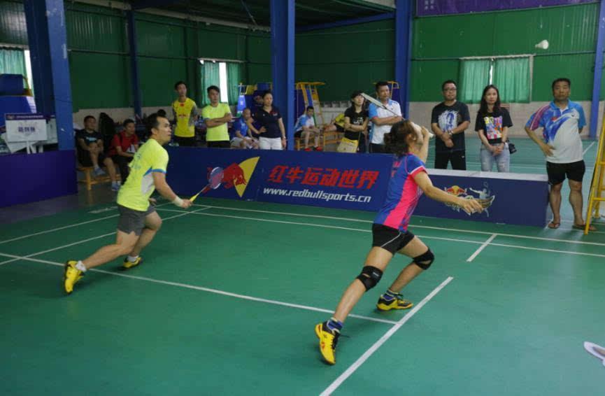 澄迈羽毛球公开赛圆满收拍 海口腾龙队夺得冠军