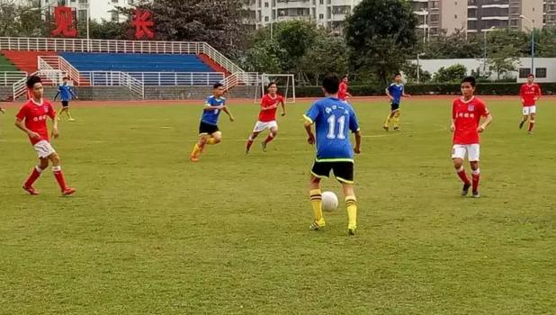 2017-2018海口市校园足球联赛进入休整期 年后开学再战