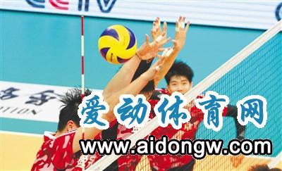 中国男排超级联赛第二阶段 八一主场1:3不敌江苏