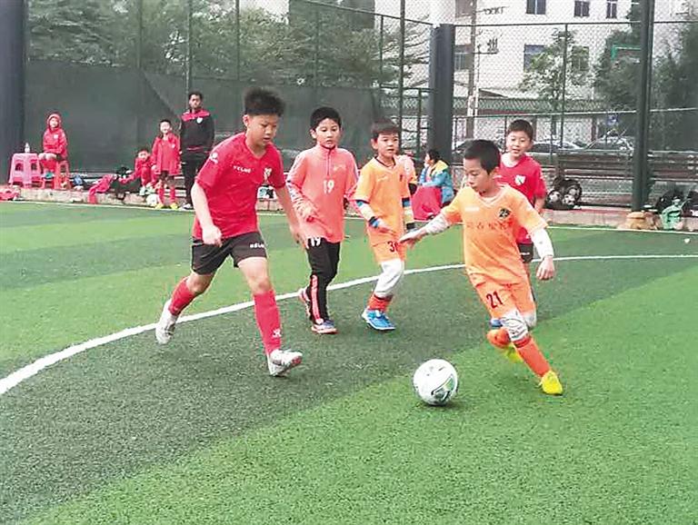重庆举办青少年足球邀请赛 海南西盟队获U9组季军