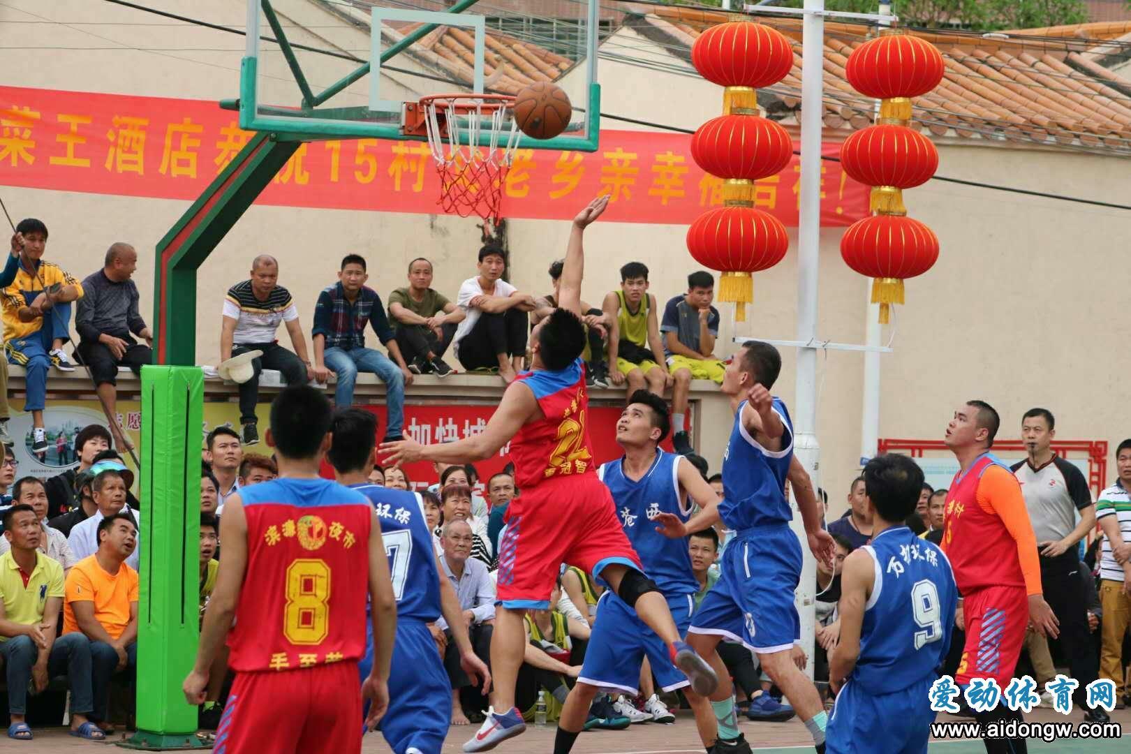 """第十四届秀英""""迎春杯""""篮球赛落幕   苍西村四度封王"""