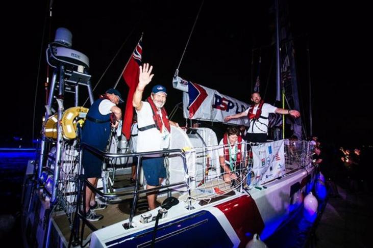 克利伯环球帆船赛迎来首艘撞线船只 正式开启欢乐嘉年华时间