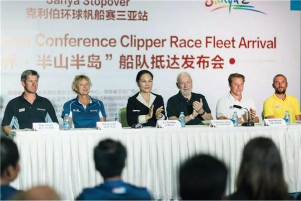克利伯环帆赛创始人称愿与三亚市政府合作 把三亚站打造成全球一流停靠站