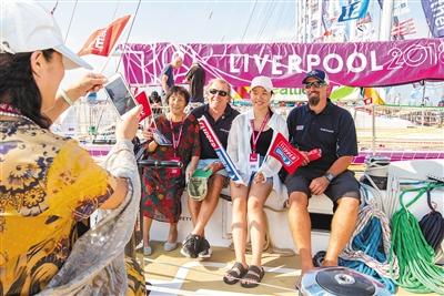 三亚举办克利伯帆船三亚经停港活动 让市民享受帆船的魅力