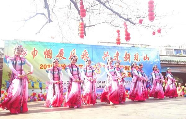 传统与现代的碰撞:海口琼山区举办原创琼剧广场舞比赛