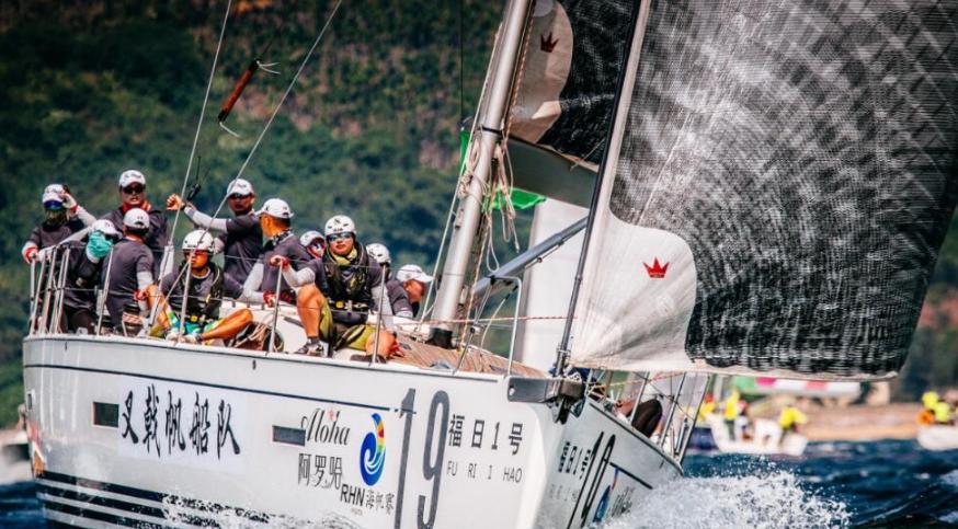 """""""阿罗哈杯""""2016第七届环海南岛国际大帆船赛精彩瞬间"""