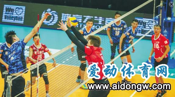 中国男排超级联赛半决赛第二回合  八一男排主场被逆转