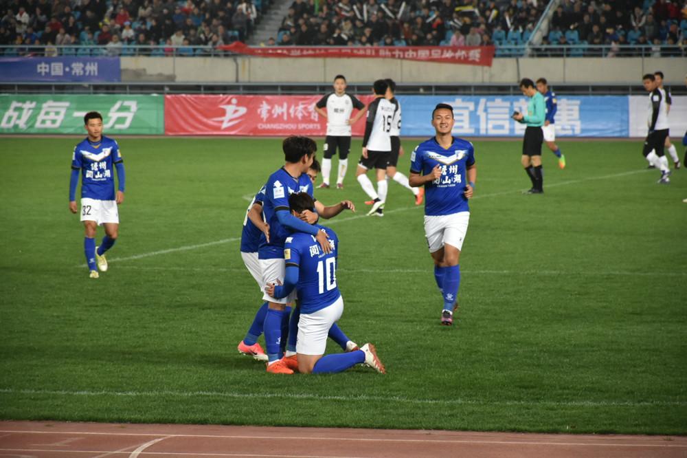 足协杯海南足球队2:1逆转取胜常州  下轮将主场对阵江西联盛
