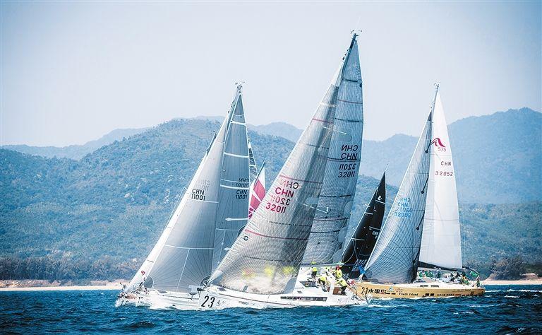 """竞赛海域开始""""管制""""  海帆赛期间过往船只需注意避让"""