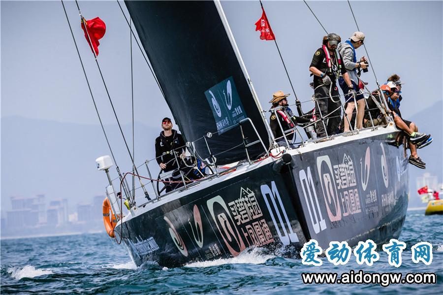 碧桂园杯2018海帆赛IRC1-3组开启环岛拉力赛航程