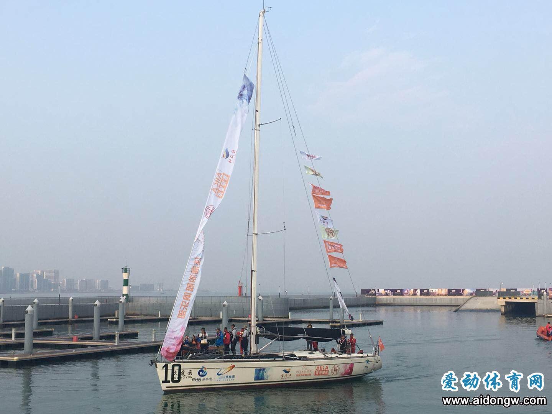 爱动快讯:2018碧桂园杯环海南岛国际大帆船赛 大连佳海游艇帆船队率先抵达海口