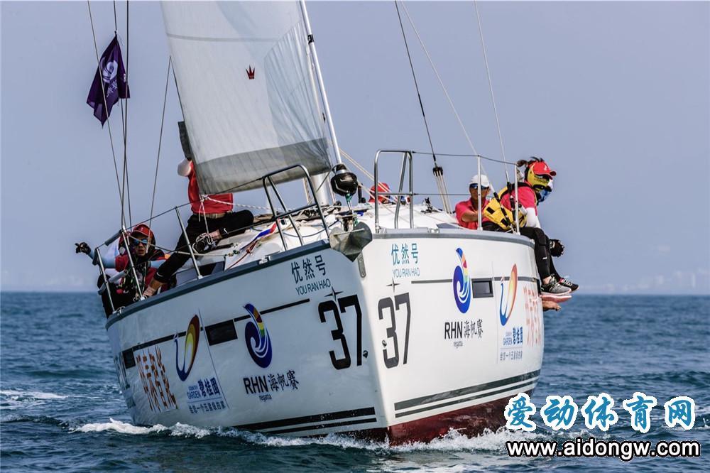 第九届海帆赛环岛拉力赛(三亚至海口)12支船队抵港