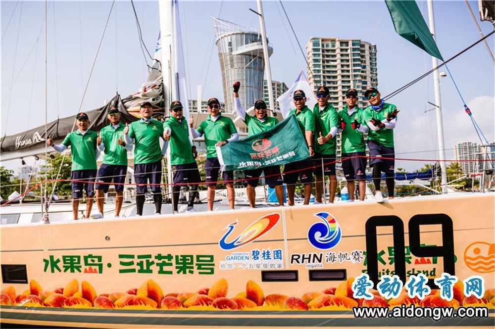 海帆赛:三亚—陵水拉力赛结束  东海岸航行渔网是最大挑战