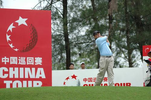 高尔夫中巡赛第二站 博鳌公开赛开杆