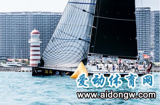 碧桂园杯2018海帆赛东线拉力赛  新锐赛船打破东线记录