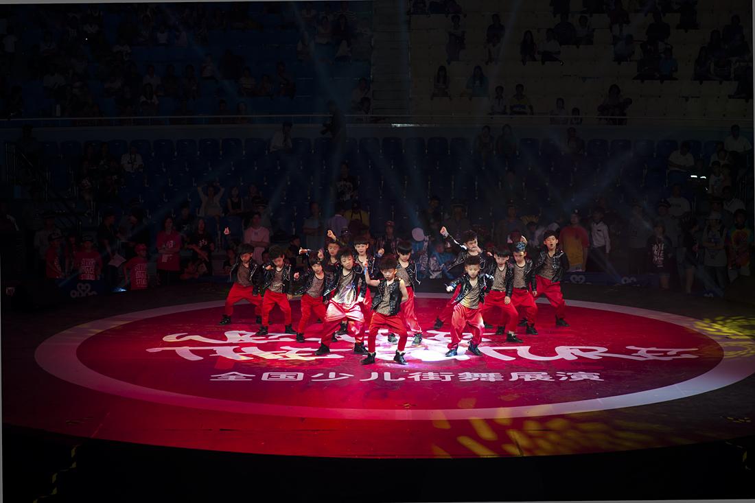 第五届WID国际街舞比赛三亚启动  百余名少儿比拼街舞