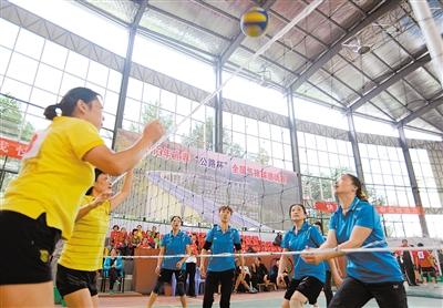 2018海南全国气排球邀请赛落幕 海南澄迈和江西南昌分获男女冠军