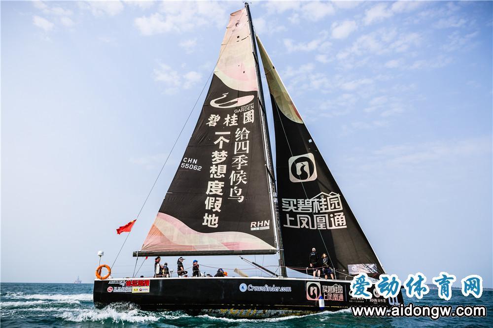 海帆赛携手碧桂园推动帆船运动普及带动海洋经济发展