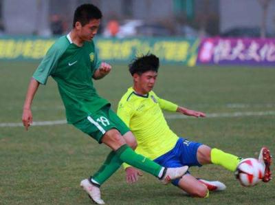 青超联赛继续打响  海南U13暂居积分榜首位