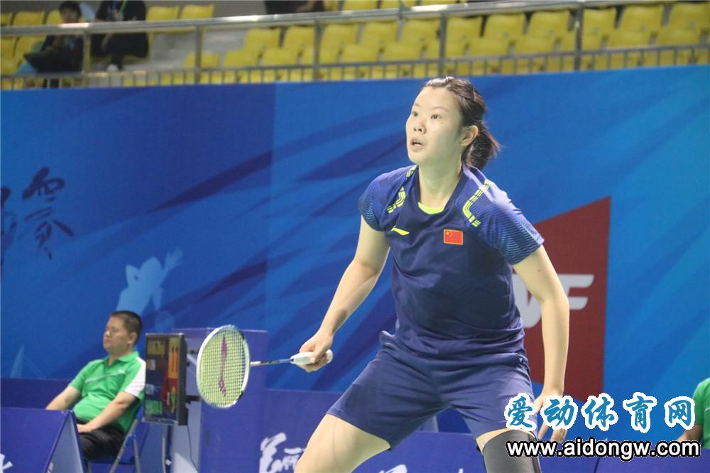 2018中国(陵水)国际羽毛球大师赛李雪芮复出战成焦点  王者归来首战告捷!