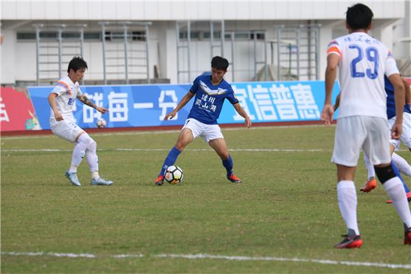 足协杯第三轮:海南海口点球3:1梅州客家  下轮将战北京人和