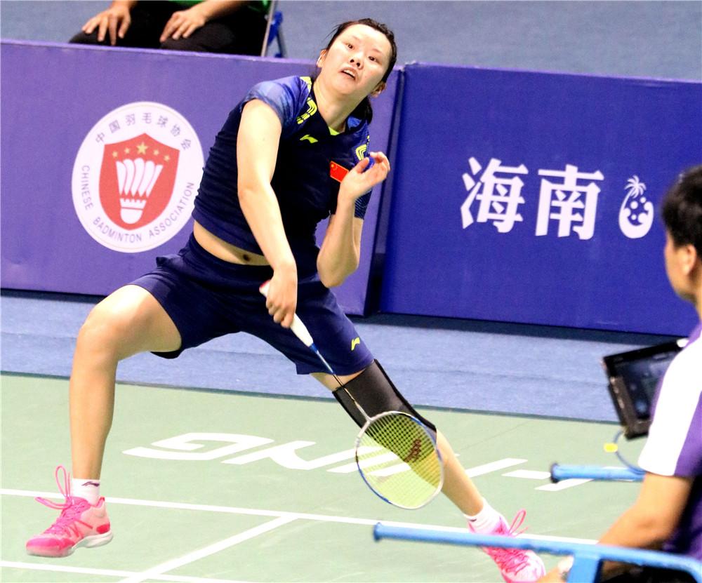 【图集】2018中国(陵水)国际羽毛球大师赛1/4决赛比赛精彩回顾