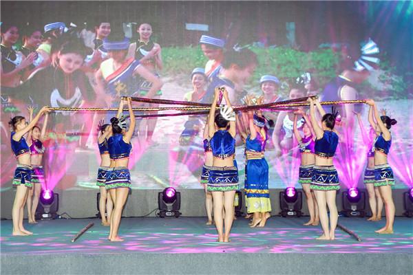庆祝海南建省办经济特区30周年 万人竹竿舞4月28日海口上演