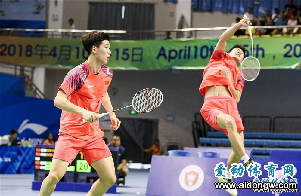 【图集】中国(陵水)国际羽毛球大师赛精彩回顾 中国队斩获四个单项冠军