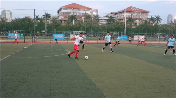 2018省七人制草根足球赛八强诞生 海航技术零封对手