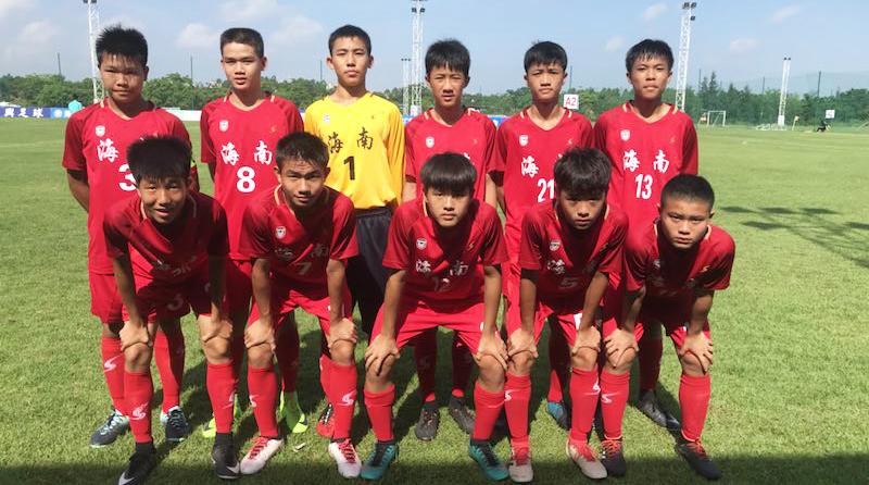 海南3支青少年球队 参加国内高水平比赛