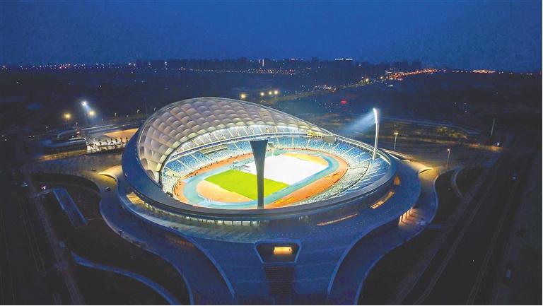 五源河文体中心计划每年办30余场大型赛事及演唱会