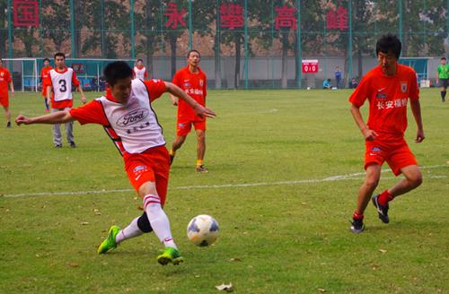 全省公安系统足球联赛 东部赛区在琼海开赛