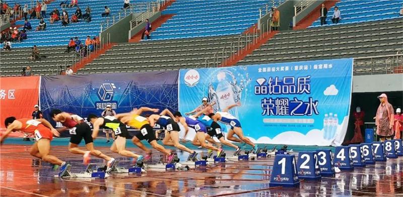 江亨南、薛亚农全国田径大奖赛涪陵站双双摘银