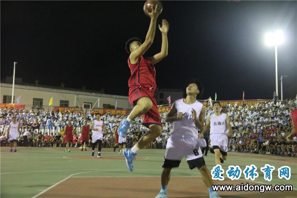 海南省第五届运动会群众比赛篮球赛开哨 打响省运会第一战