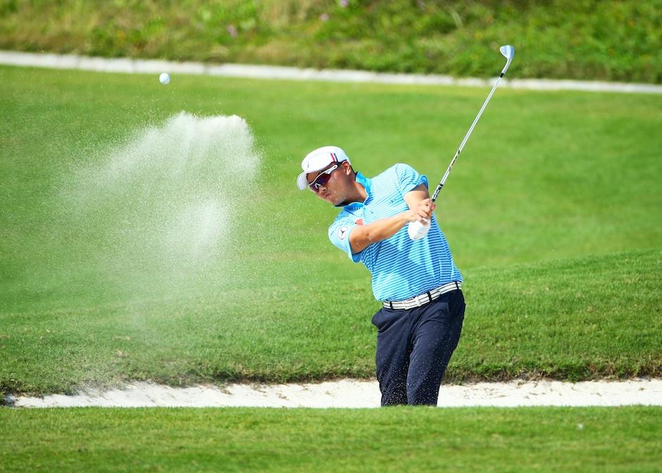 海南高尔夫球公开赛天津站收杆