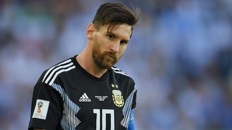2018世界杯小组赛阿根廷1:1冰岛打平  梅西失点