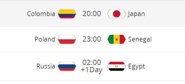 """【世界杯前瞻】""""死亡H组""""谁能杀出重围?战俄罗斯萨拉赫会出场?"""