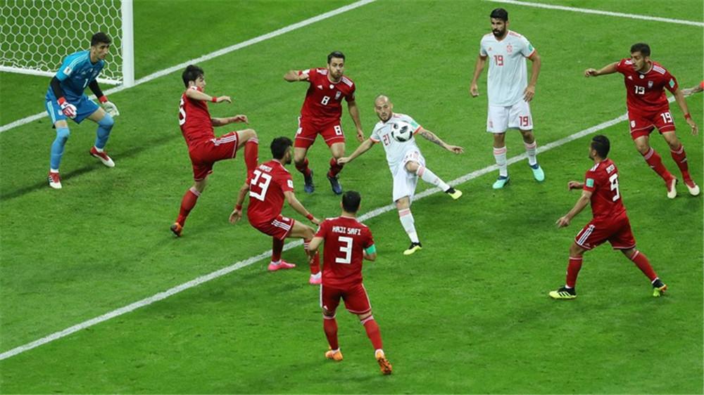 雷扎埃安乌龙助攻科斯塔破门 伊朗0:1西班牙