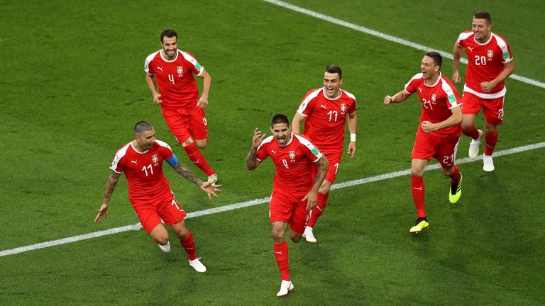 沙基里绝杀!扎卡轰重炮 瑞士2:1逆转塞尔维亚