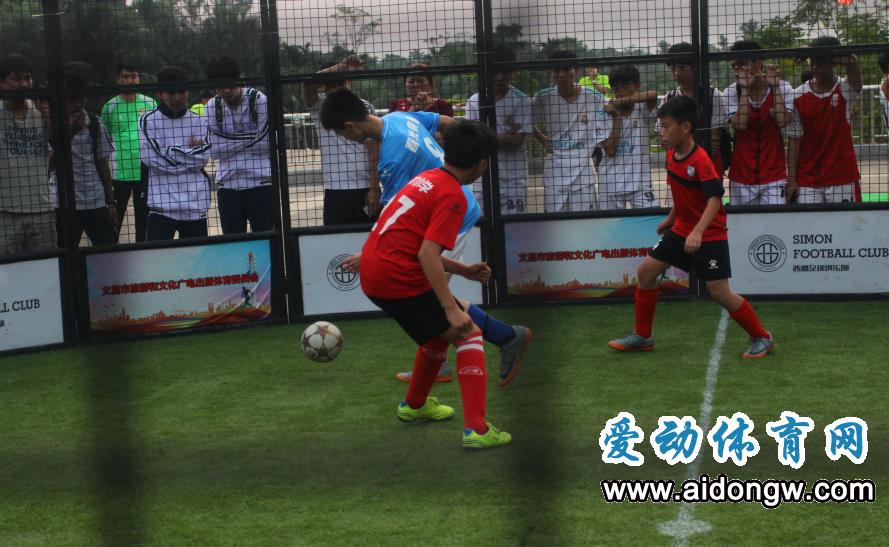 海口举行足球嘉年华活动 20支少年球队参赛